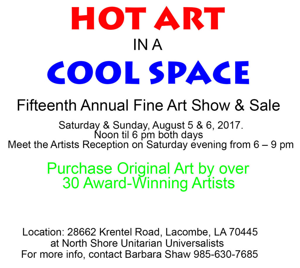 Hot Art flyer